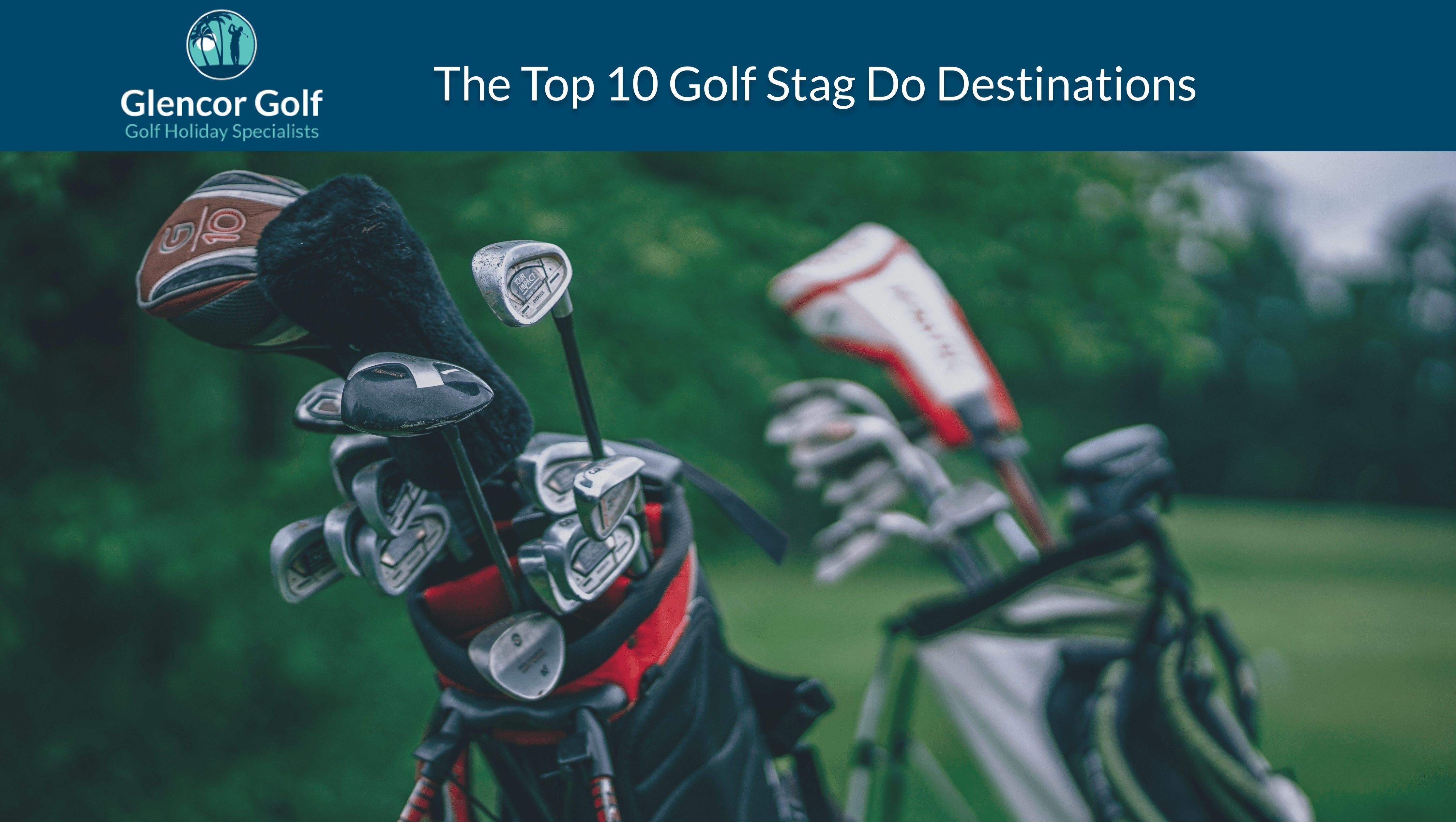 Golf stag do header